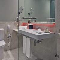 Bathroom at Pousada Lisboa - Portugal