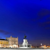 Terreiro do Paco by night - Lisboa, the Portuguese capital