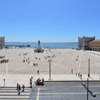 View of Terreiro do Paco - Lisbon historical centre