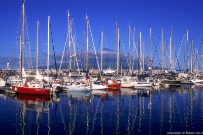 Faial island marina - The Azores