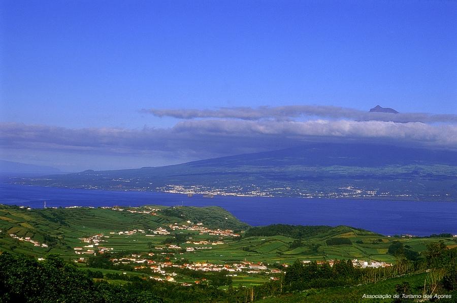 View to Pico island - Pousada da Horta