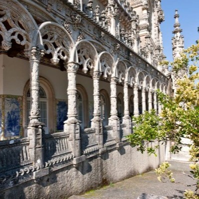 Detail of the exterior - Bussaco Palace