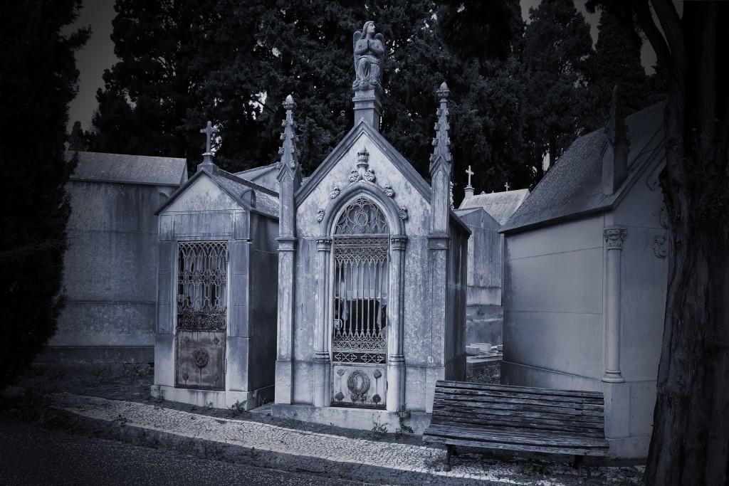 Old european cemetery