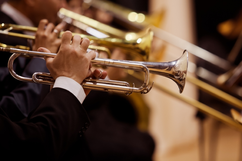 Trumpets playing iStock_000049981276_Small
