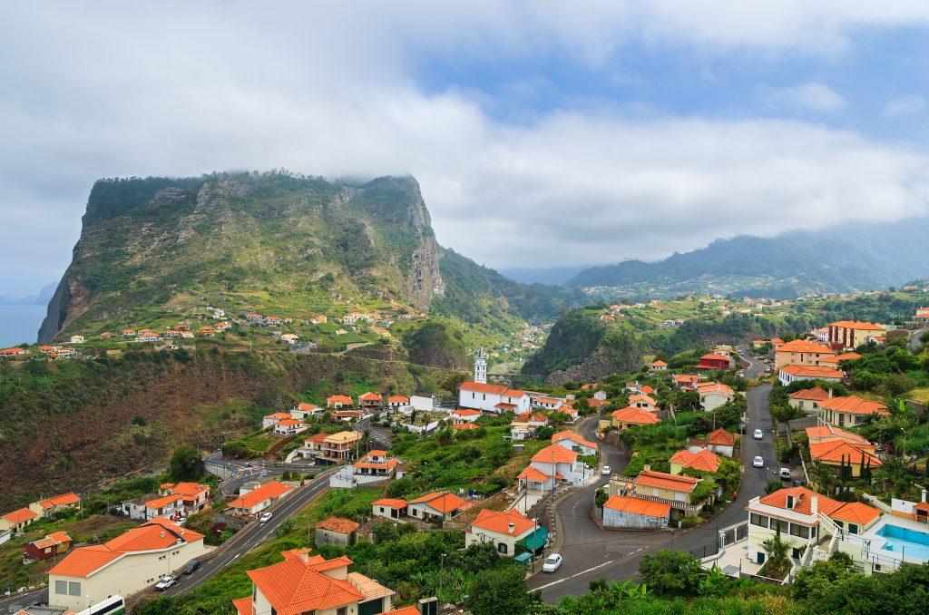view of faial mountain village