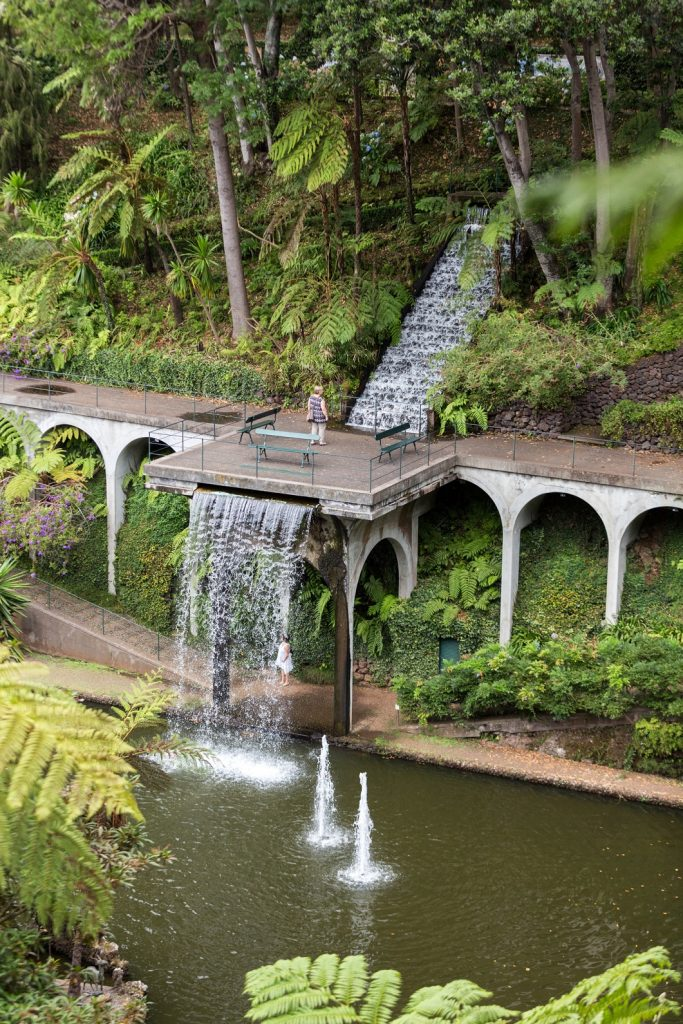 Funchal, Madeira, Portugal - September 2, 2016: Monte Palace Tropican Garden on Madeira, Portugal.