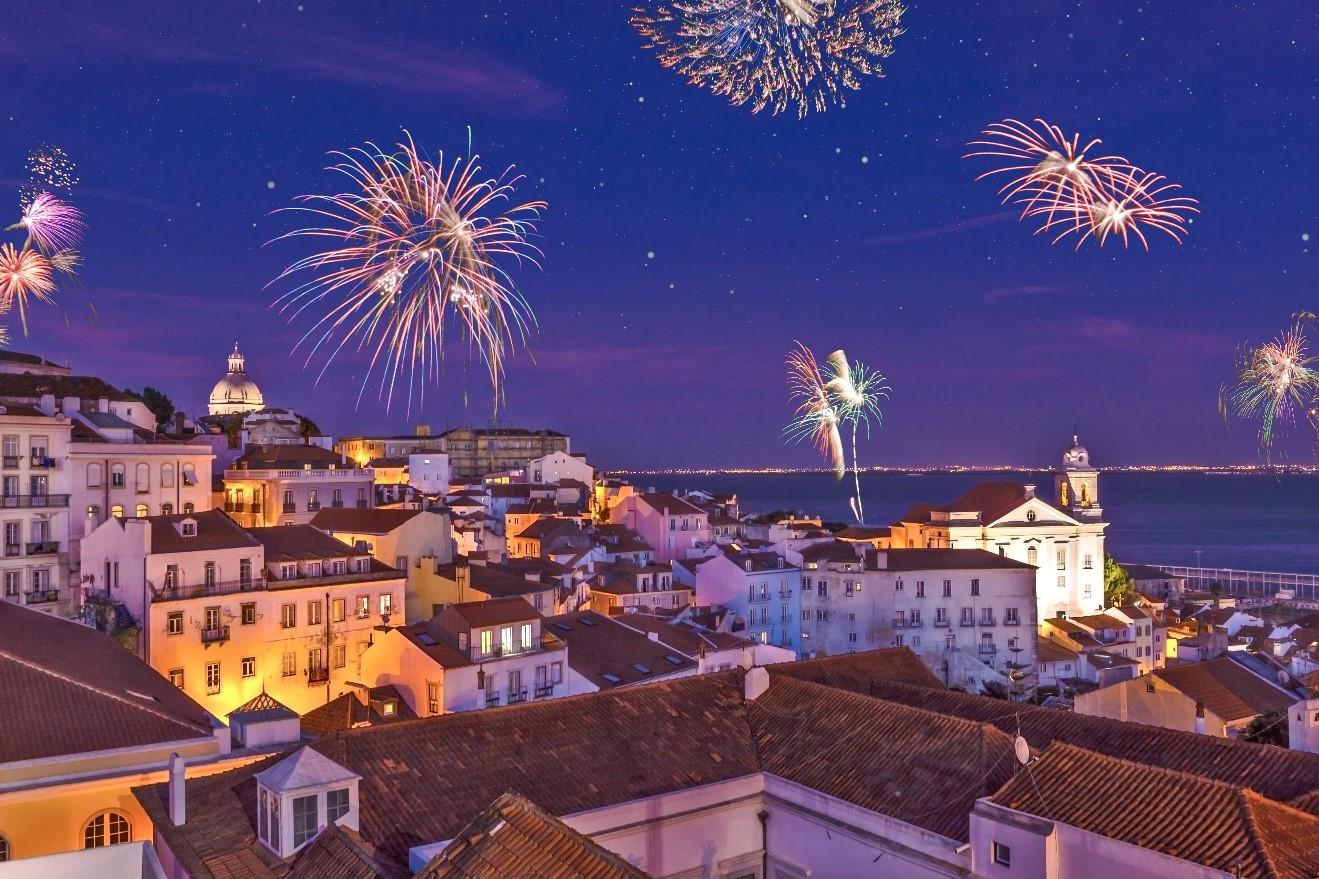 portugal fireworks