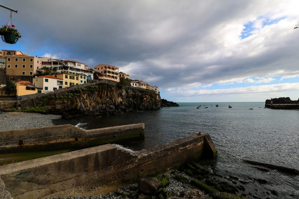 Câmara de Lobos is a picturesque Portuguese fishing village on the island of Madeira