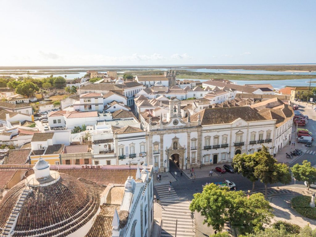 Cidade Velha, city view of Faro, architectural interest, thing to do in Faro